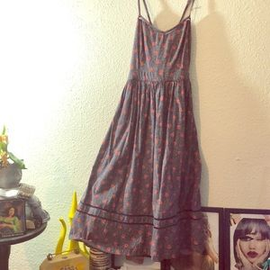 Urban Outfitters Dresses - Urban outfitters Blue tank dress